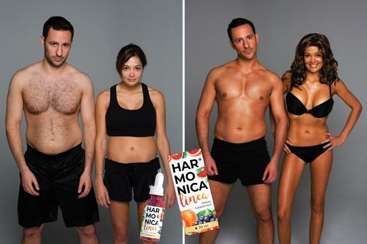 Фото до и после похудения с Harmonica Linea